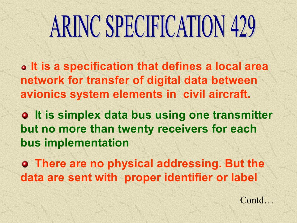 ARINC SPECIFICATION 429