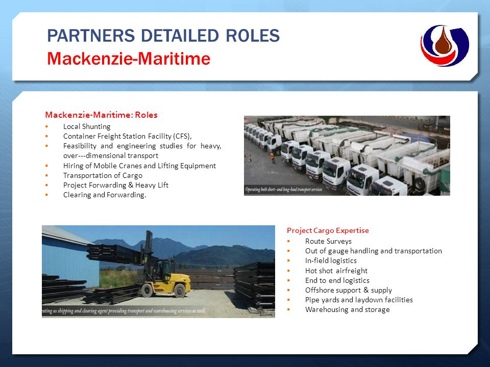 PARTNERS DETAILED ROLES Mackenzie-Maritime