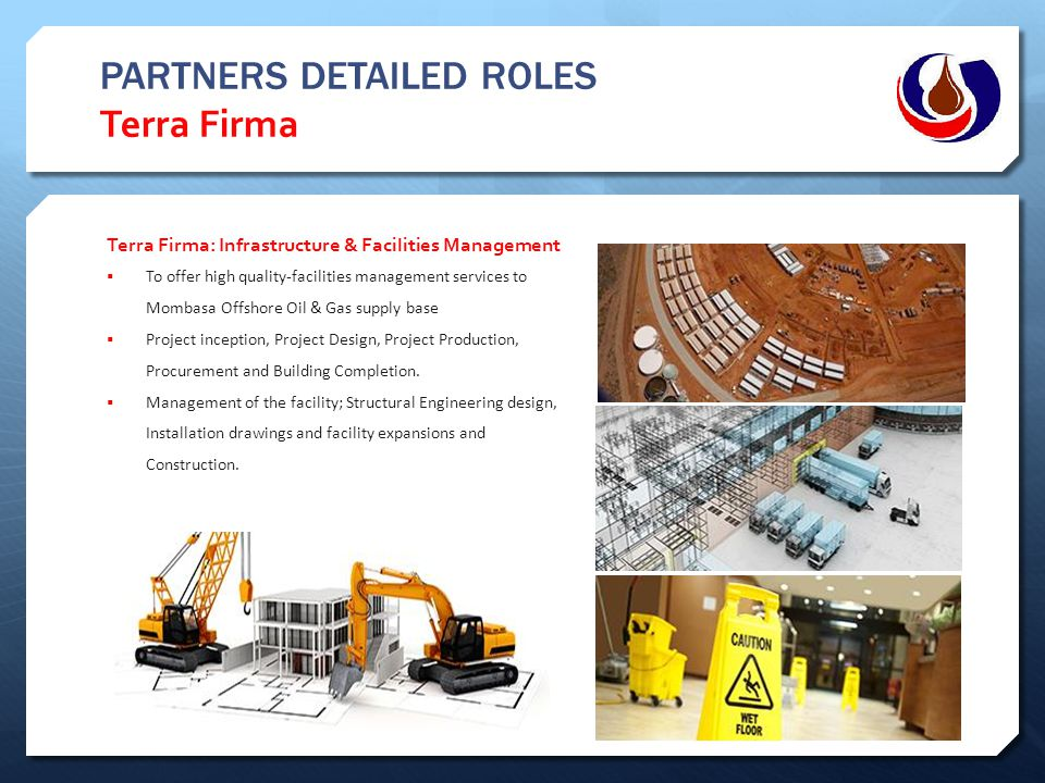 PARTNERS DETAILED ROLES Terra Firma