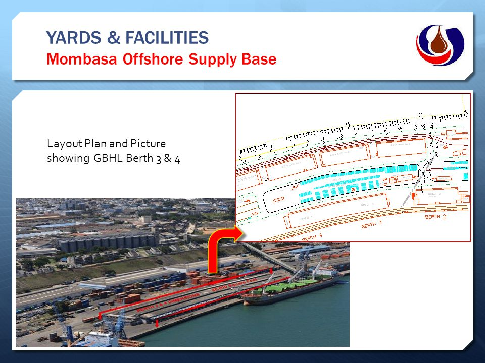 YARDS & FACILITIES Mombasa Offshore Supply Base