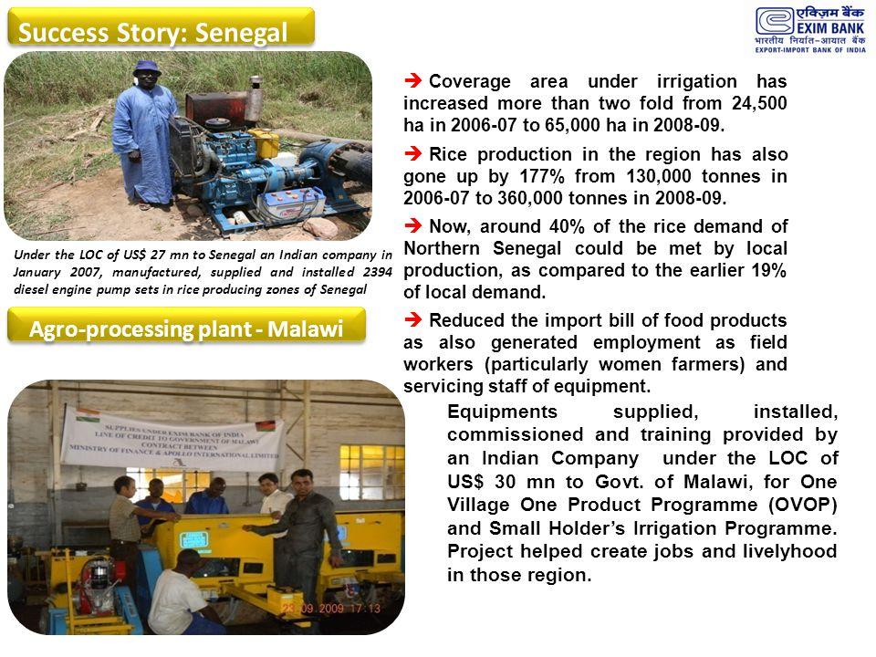 Agro-processing plant - Malawi
