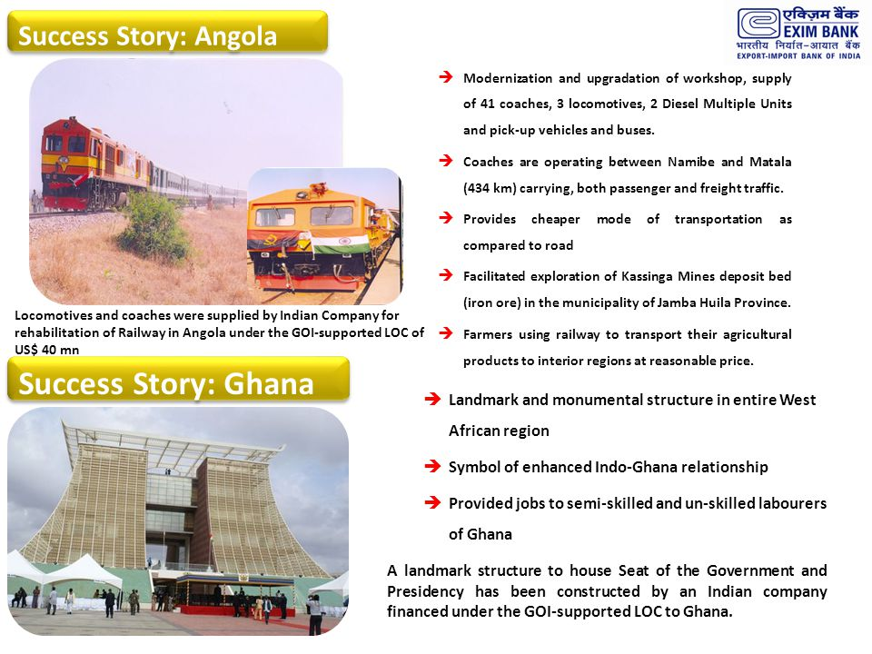 Success Story: Ghana Success Story: Angola 18 18