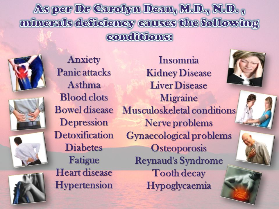 Musculoskeletal conditions Gynaecological problems