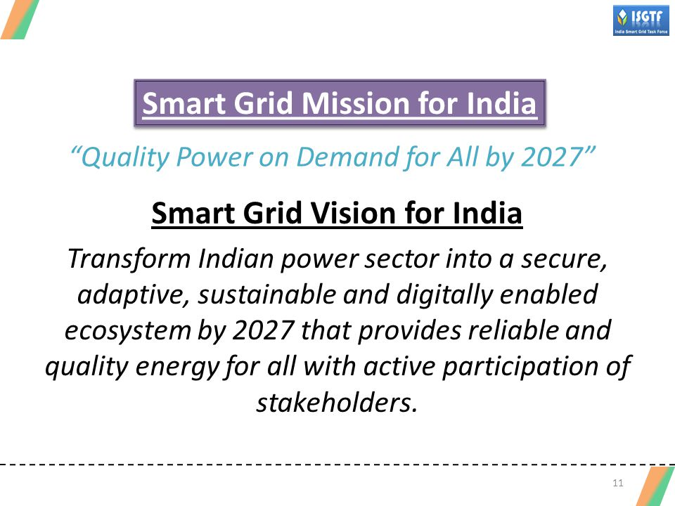 Smart Grid Mission for India