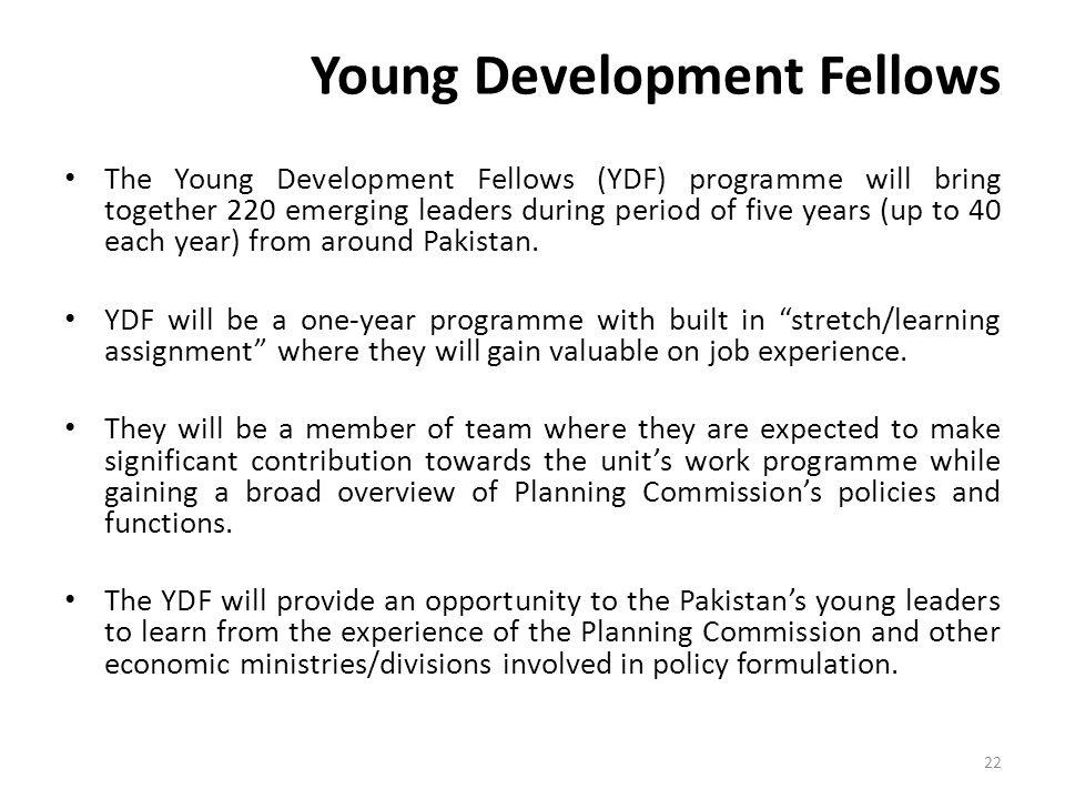 Young Development Fellows