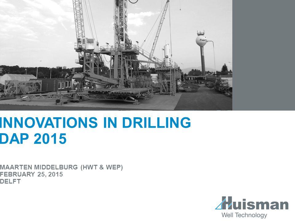 Innovations in drilling DAP 2015