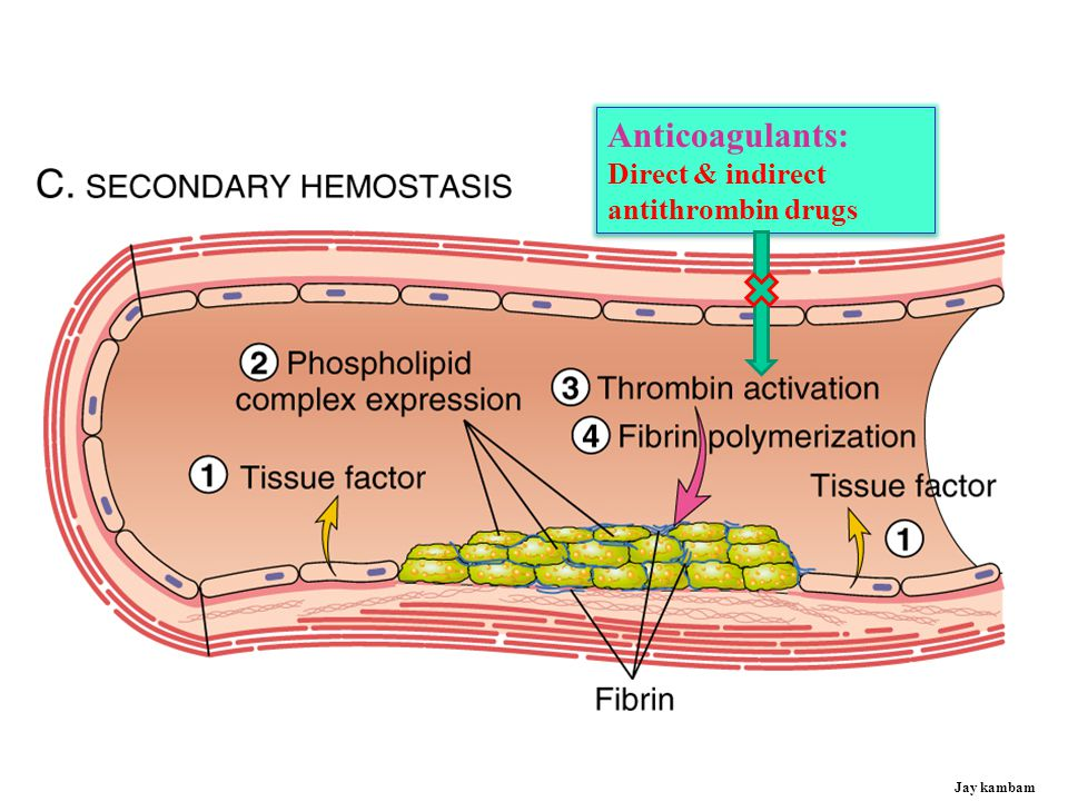 Anticoagulants: Direct & indirect antithrombin drugs