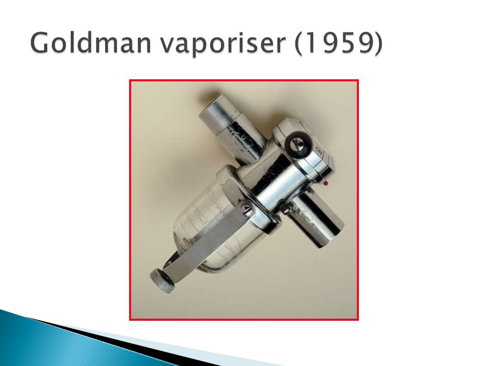 Goldman vaporiser (1959)