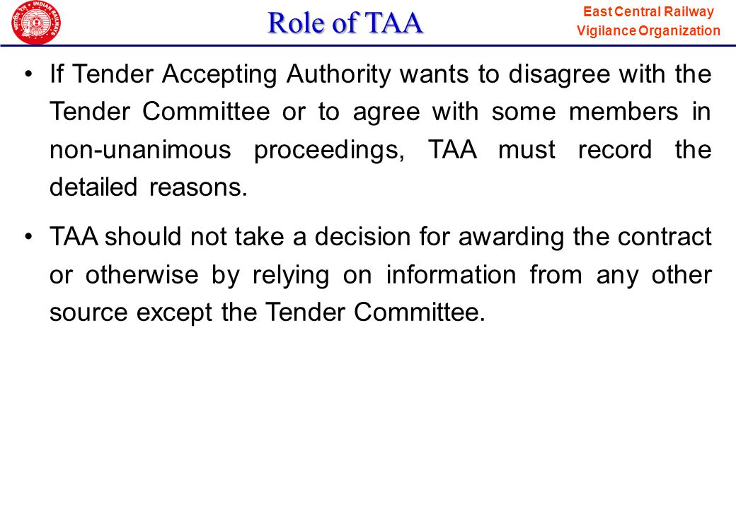Role of TAA