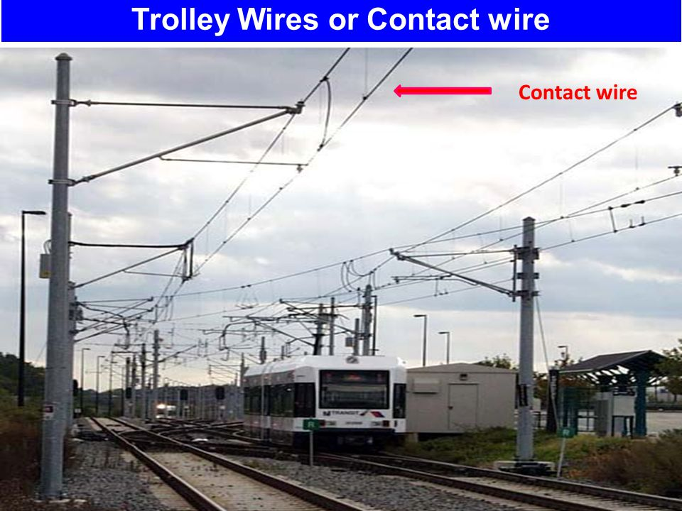 Trolley Wires or Contact wire