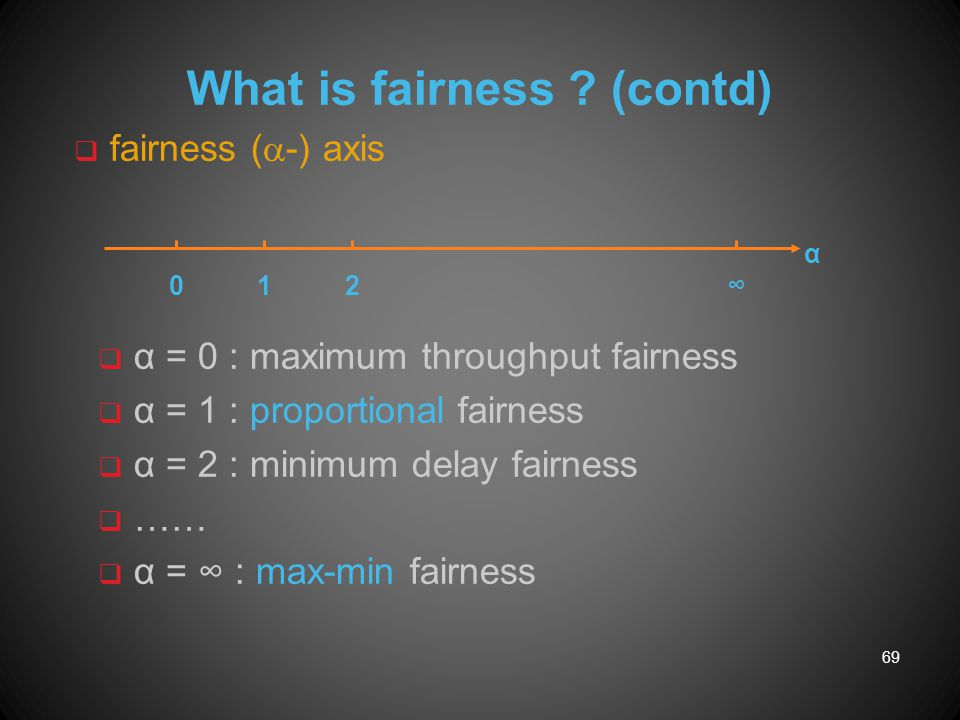 What is fairness (contd)
