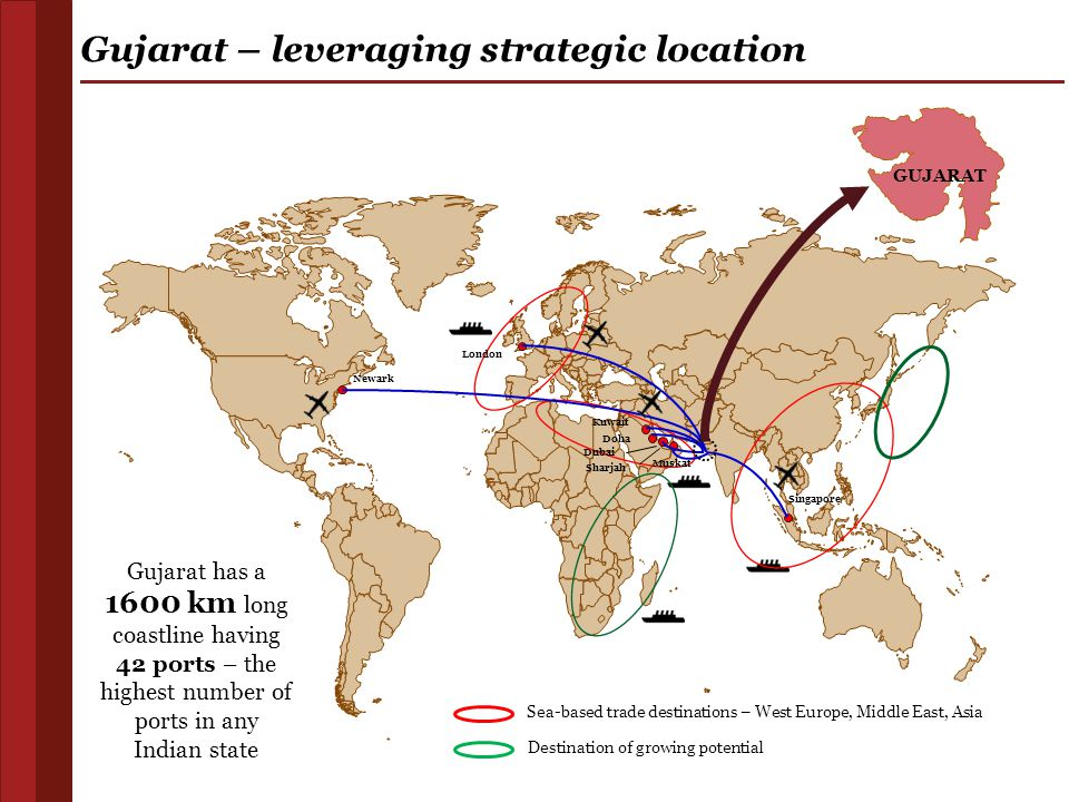 Gujarat – leveraging strategic location