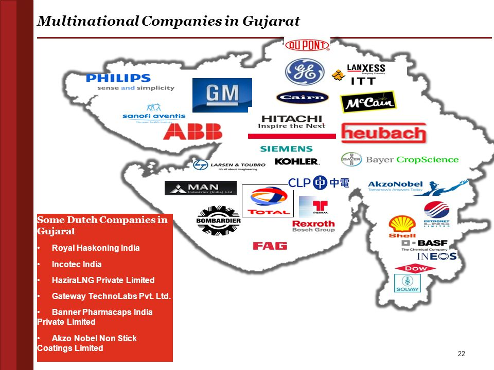 Multinational Companies in Gujarat