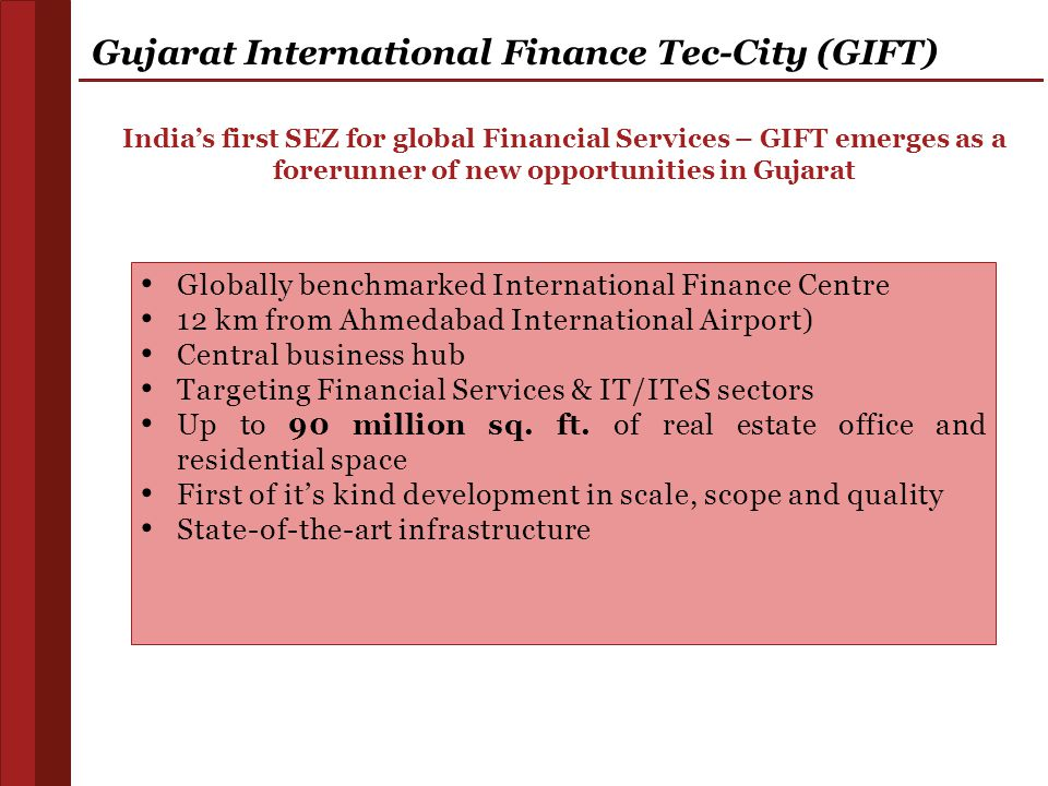 Gujarat International Finance Tec-City (GIFT)
