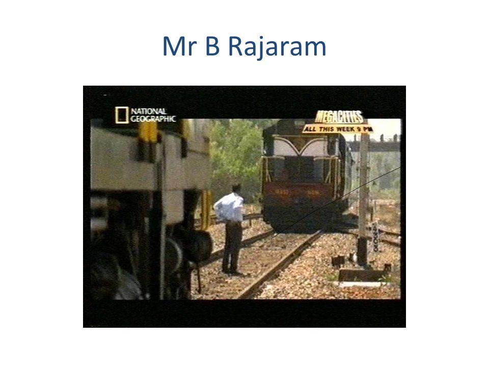 Mr B Rajaram