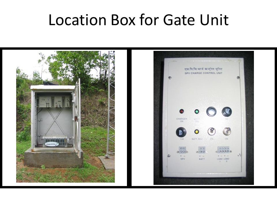 Location Box for Gate Unit