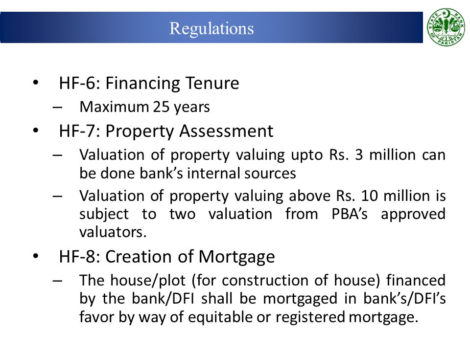 HF-7: Property Assessment