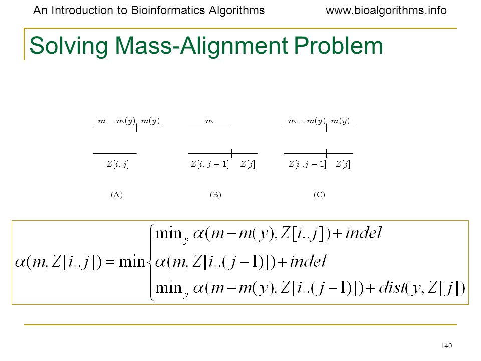 Solving Mass-Alignment Problem