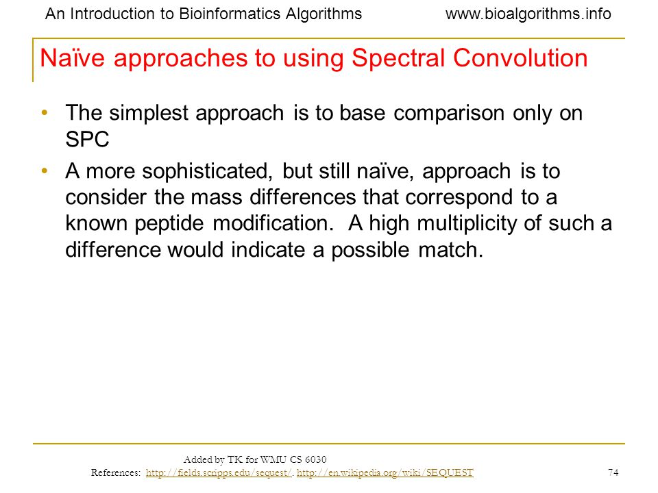 Naïve approaches to using Spectral Convolution