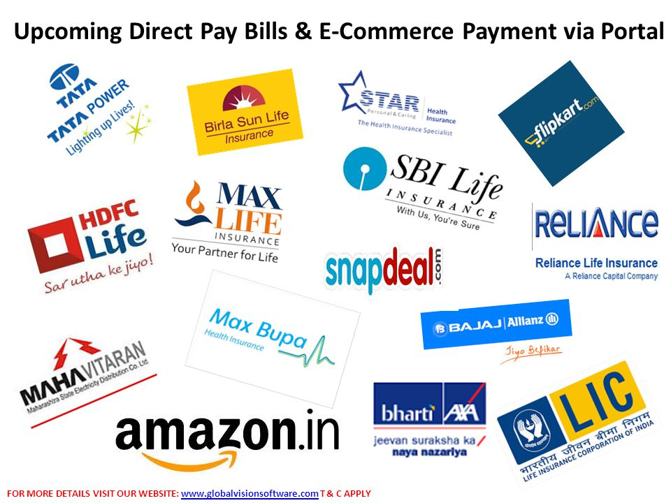 Upcoming Direct Pay Bills & E-Commerce Payment via Portal