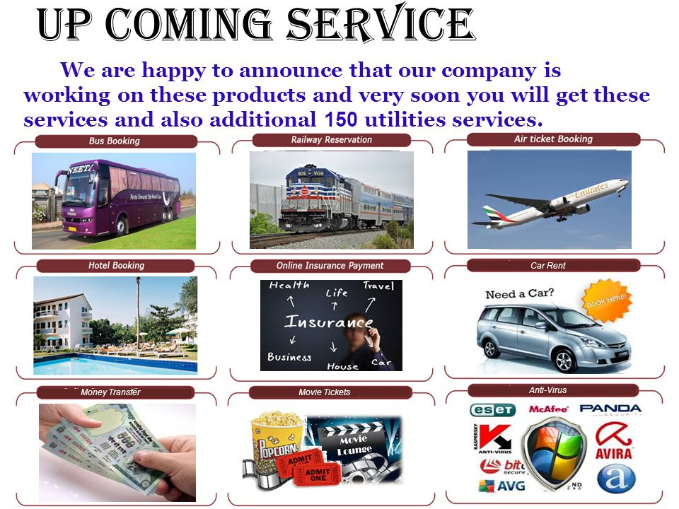 Up Coming Service