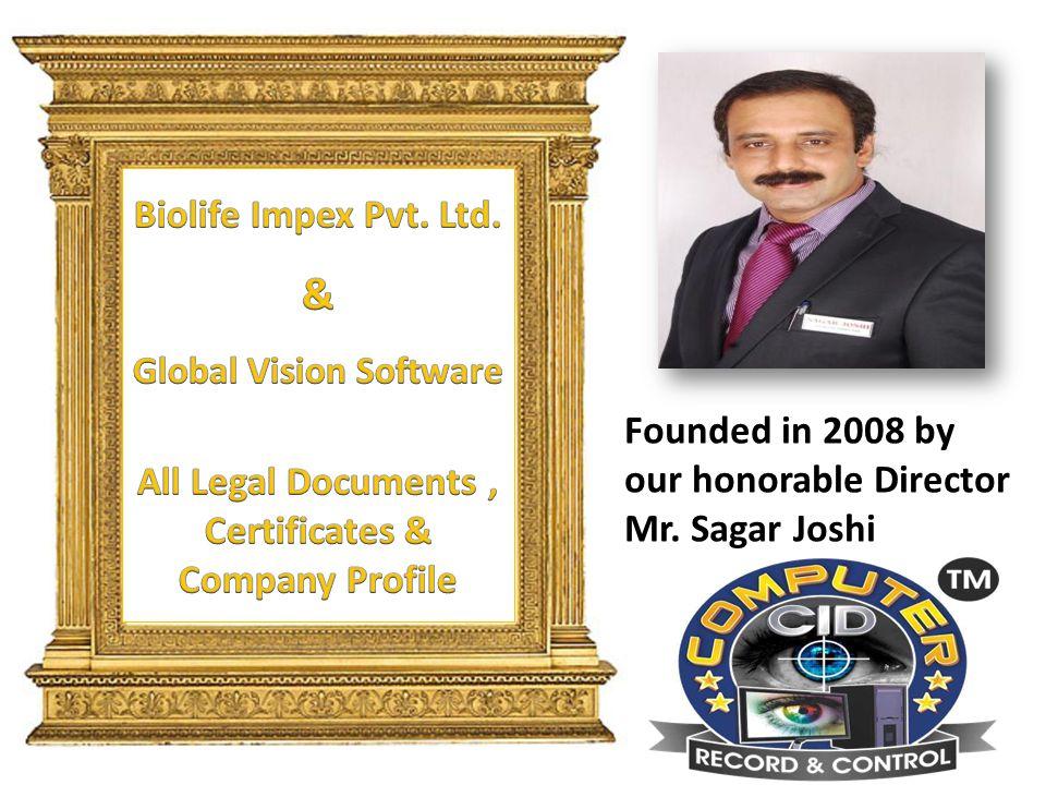 Biolife Impex Pvt. Ltd. & Global Vision Software