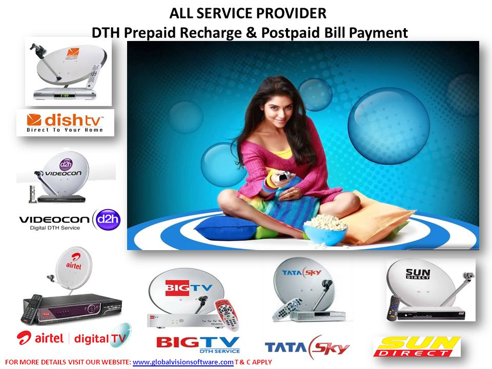 DTH Prepaid Recharge & Postpaid Bill Payment
