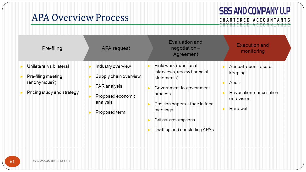 APA Overview Process Execution and monitoring