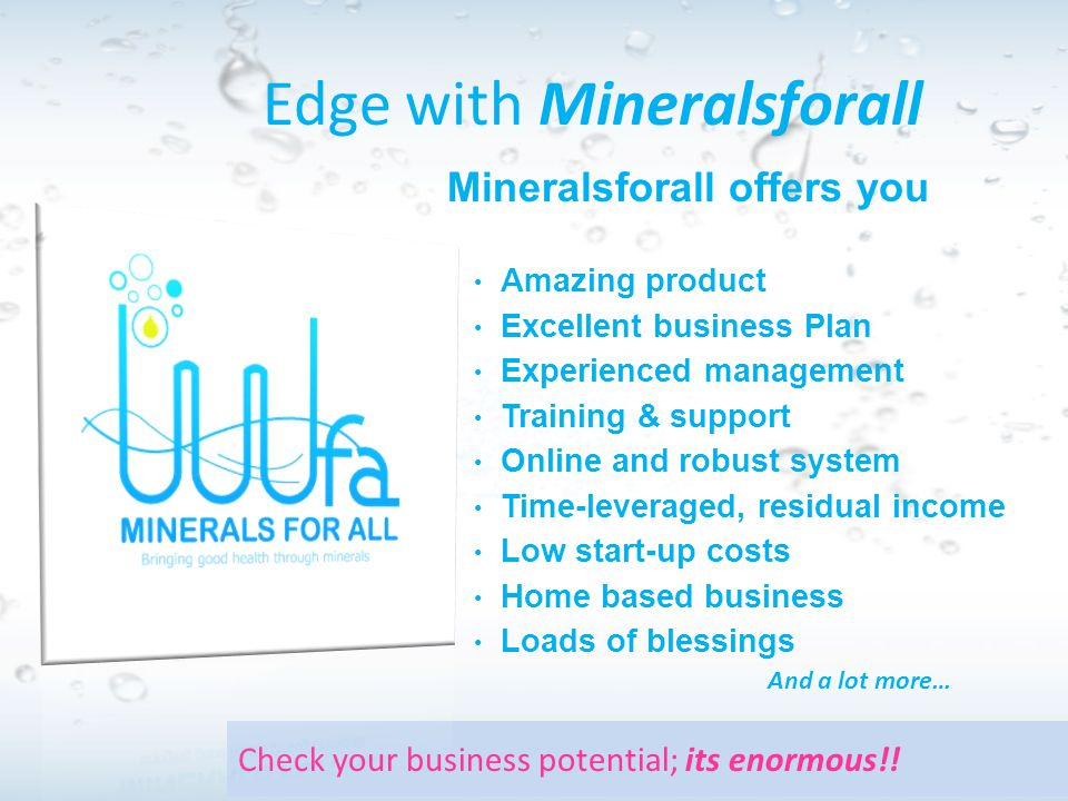 Edge with Mineralsforall