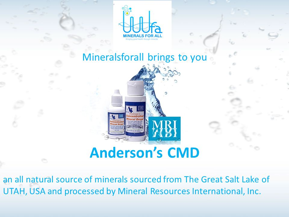 Mineralsforall brings to you