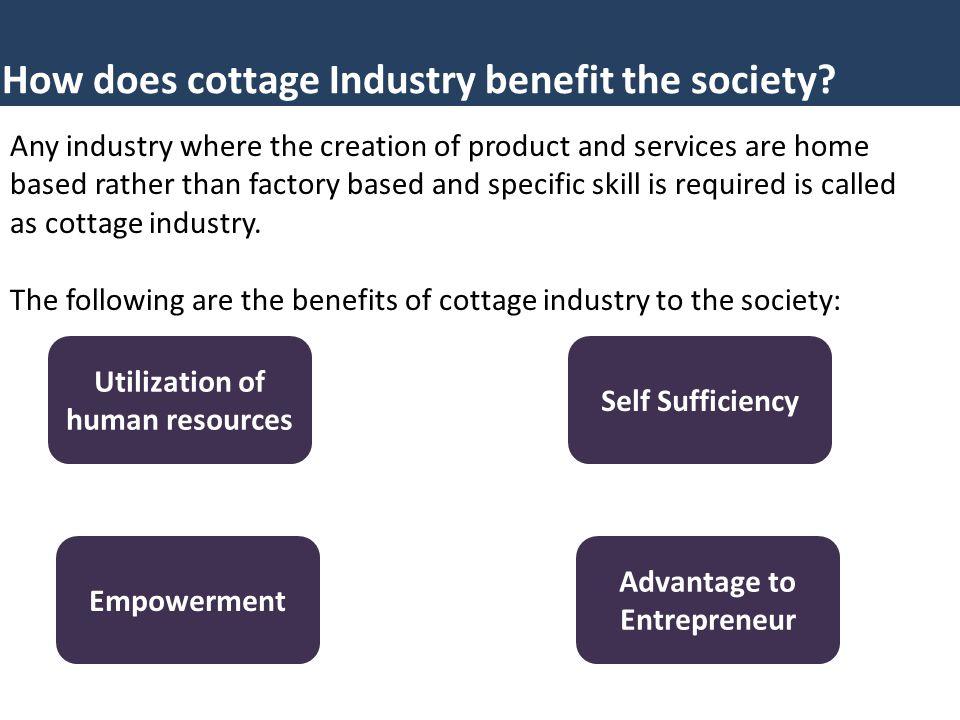Utilization of human resources Advantage to Entrepreneur