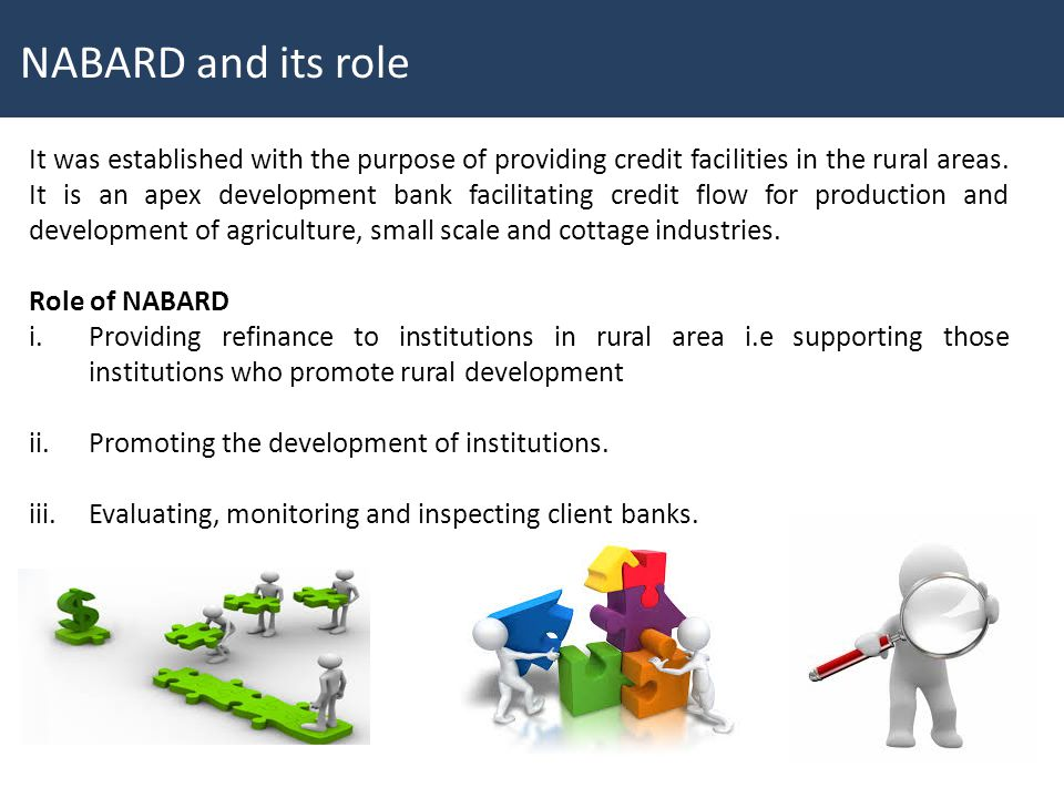 NABARD and its role