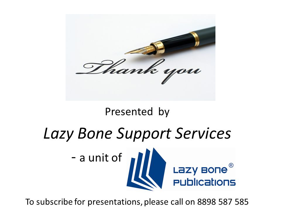 Lazy Bone Support Services