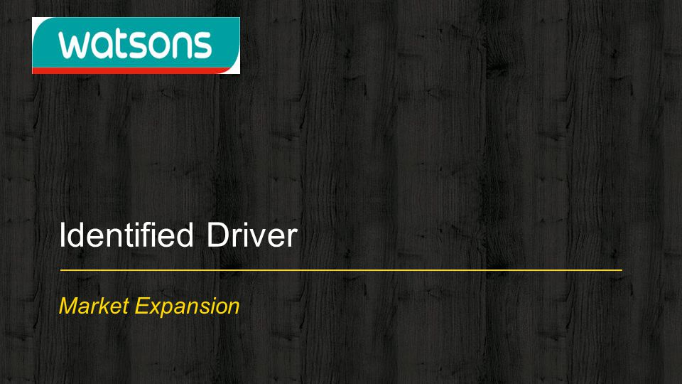 Identified Driver Market Expansion