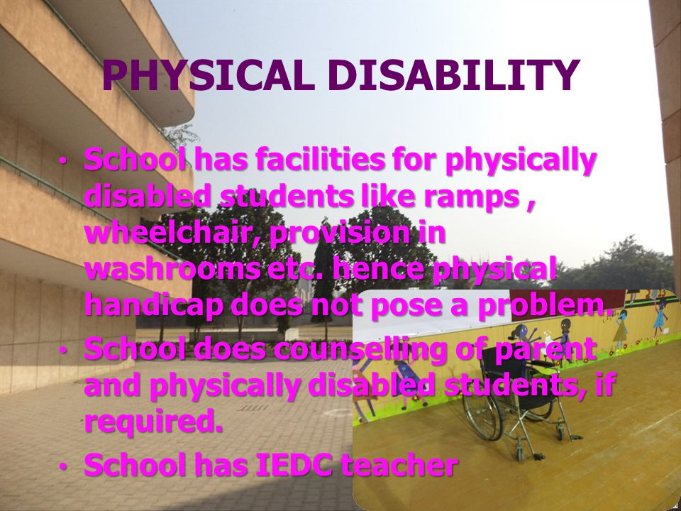 PHYSICAL DISABILITY