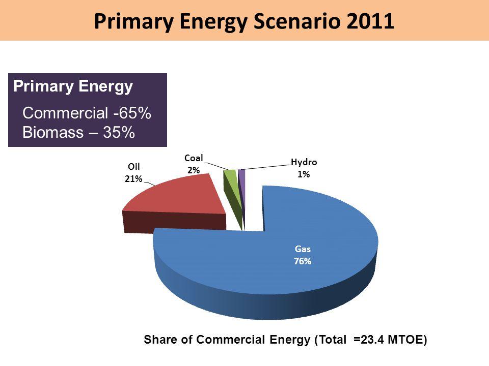 Primary Energy Scenario 2011