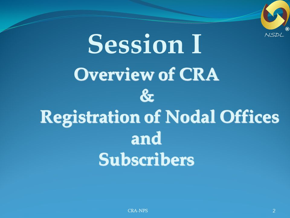 Registration of Nodal Offices and