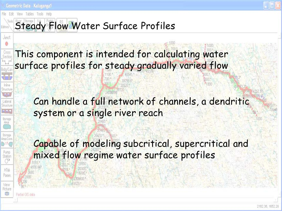 Steady Flow Water Surface Profiles