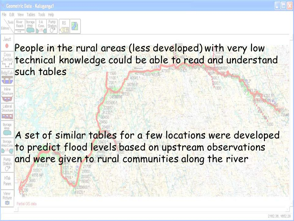 People in the rural areas (less developed) with very low technical knowledge could be able to read and understand such tables