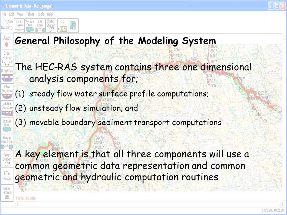 General Philosophy of the Modeling System