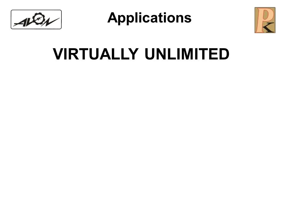 Applications VIRTUALLY UNLIMITED