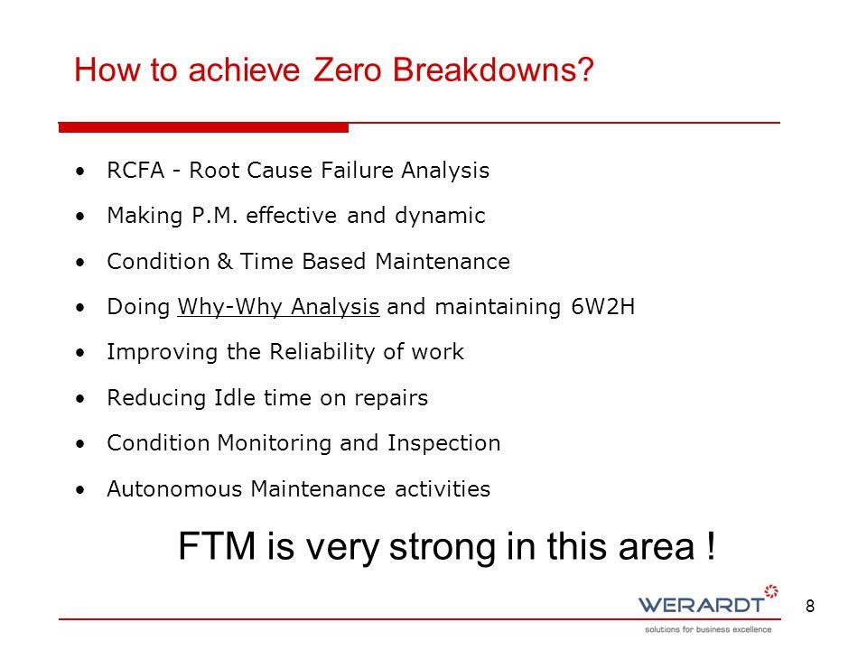How to achieve Zero Breakdowns