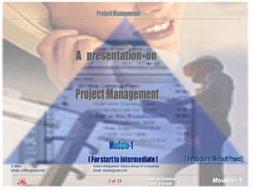 Project Management A presentation on Module-1