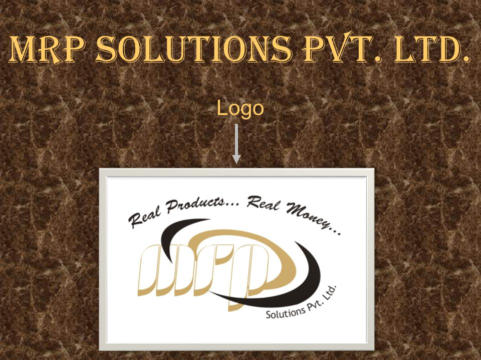 MRP SOLUTIONS PVT. LTD. Logo