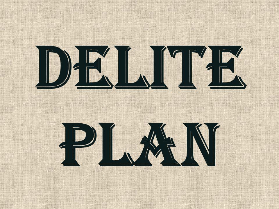 Delite plan