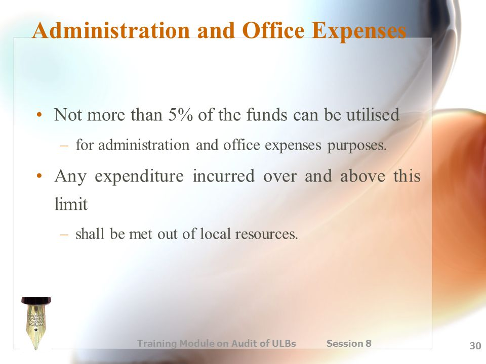 Administration and Office Expenses