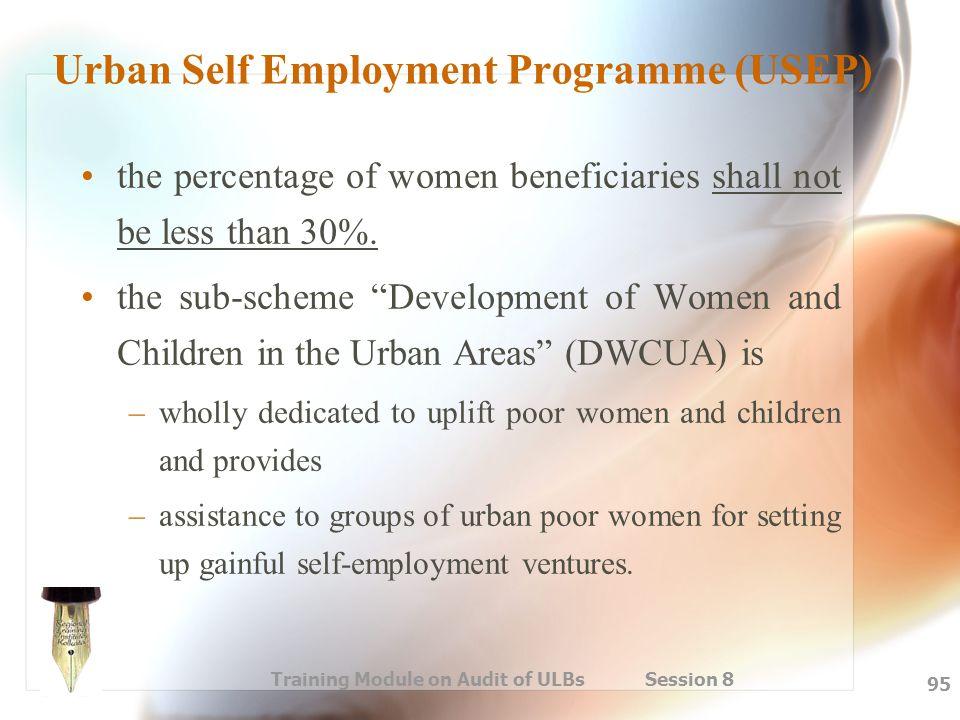 Urban Self Employment Programme (USEP)