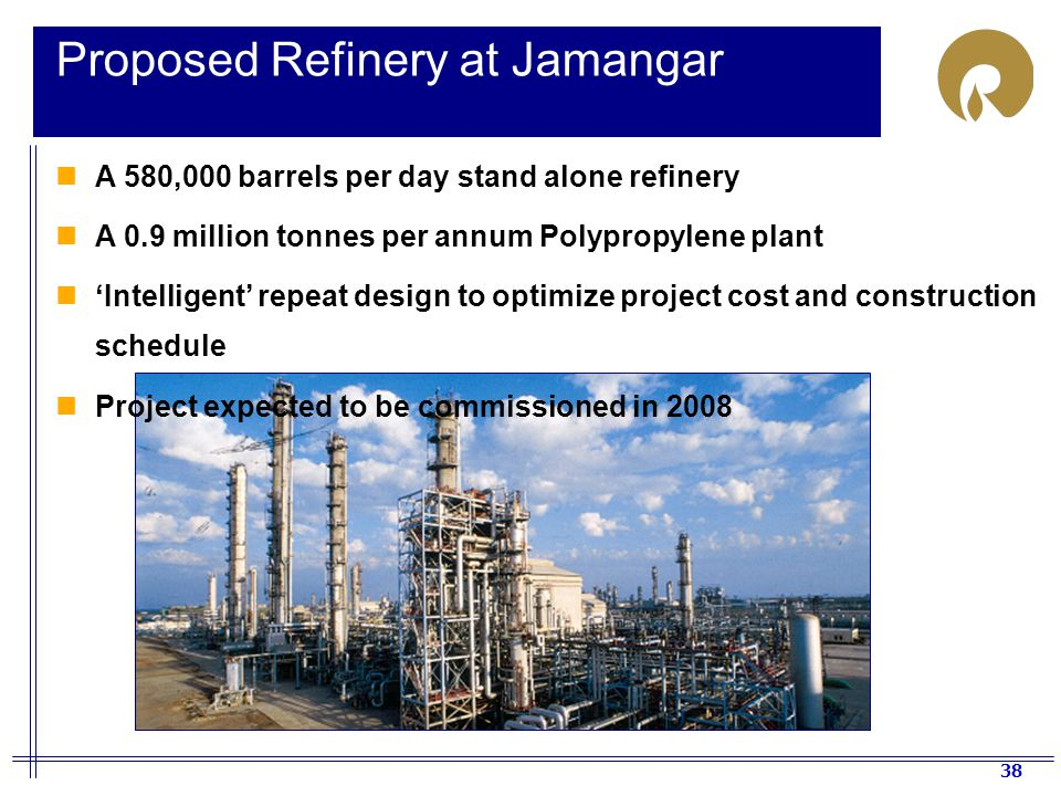 Proposed Refinery at Jamangar