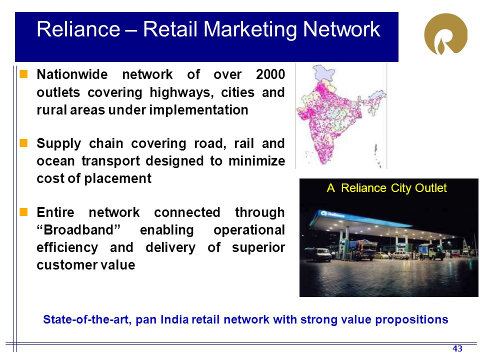 Reliance – Retail Marketing Network