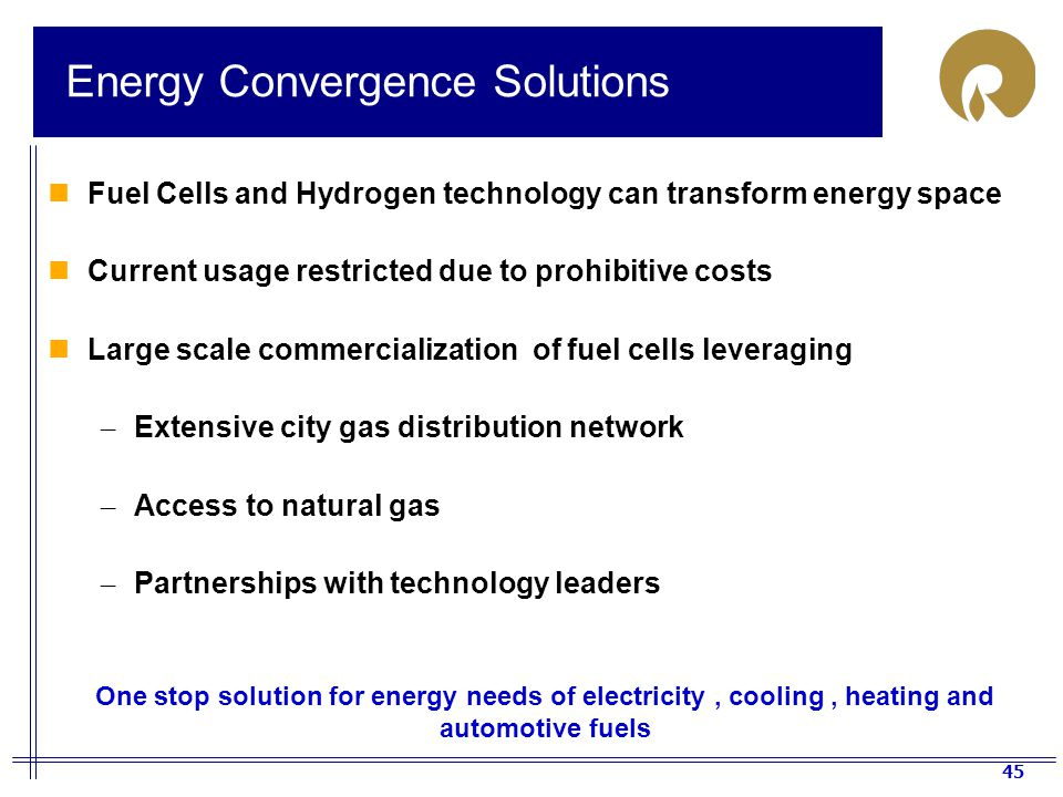 Energy Convergence Solutions